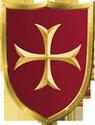 Schild Kreuz - klein