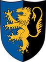 Schild Löwe - klein