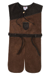 Rittergewand Leder, dunkelbraun